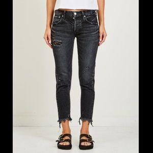 Moussy Vintage Kelley Crop Tapered Jeans